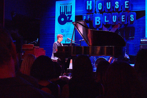 Josh Paxton at Piano Night - April 29, 2019. Photo by Eli Mergel.
