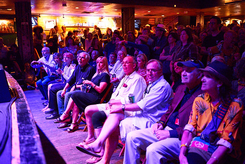 Rapt audience at Piano Night - April 29, 2019. Photo by Eli Mergel.