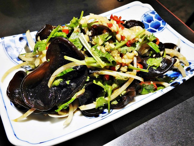Black Wood Ear Fungus Salad