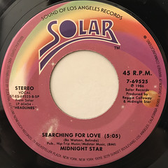 MIDNIGHT STAR:MIDAS TOUCH(LABEL SIDE-B)
