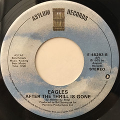 EAGLES:TAKE IT TO THE LIMIT(LABEL SIDE-B)