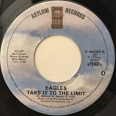 EAGLES:TAKE IT TO THE LIMIT(LABEL SIDE-A)