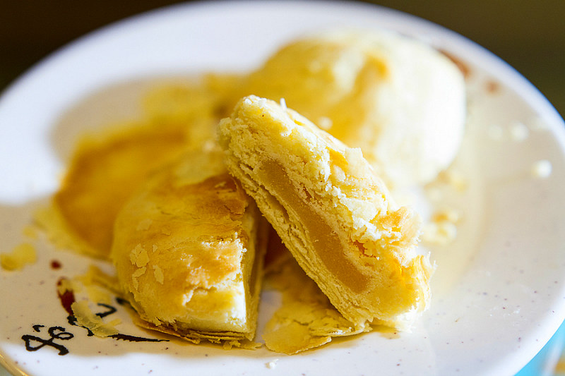 Taiwan Sun Cakes - Taiwanese Dessert