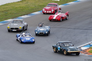 ae- 526 - 1 - 524 Elva MKIII - 566 Mercedes-Benz 300SL Coupe - 516 Lotus MK IX  - 556 Porsche 356 A