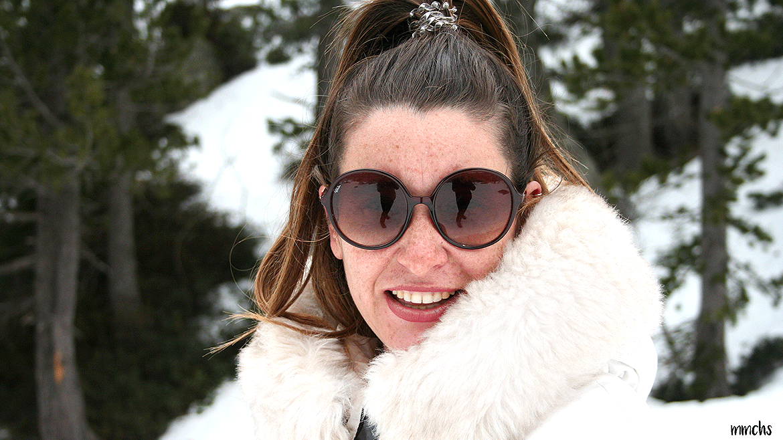 blogger de moda en la nieve
