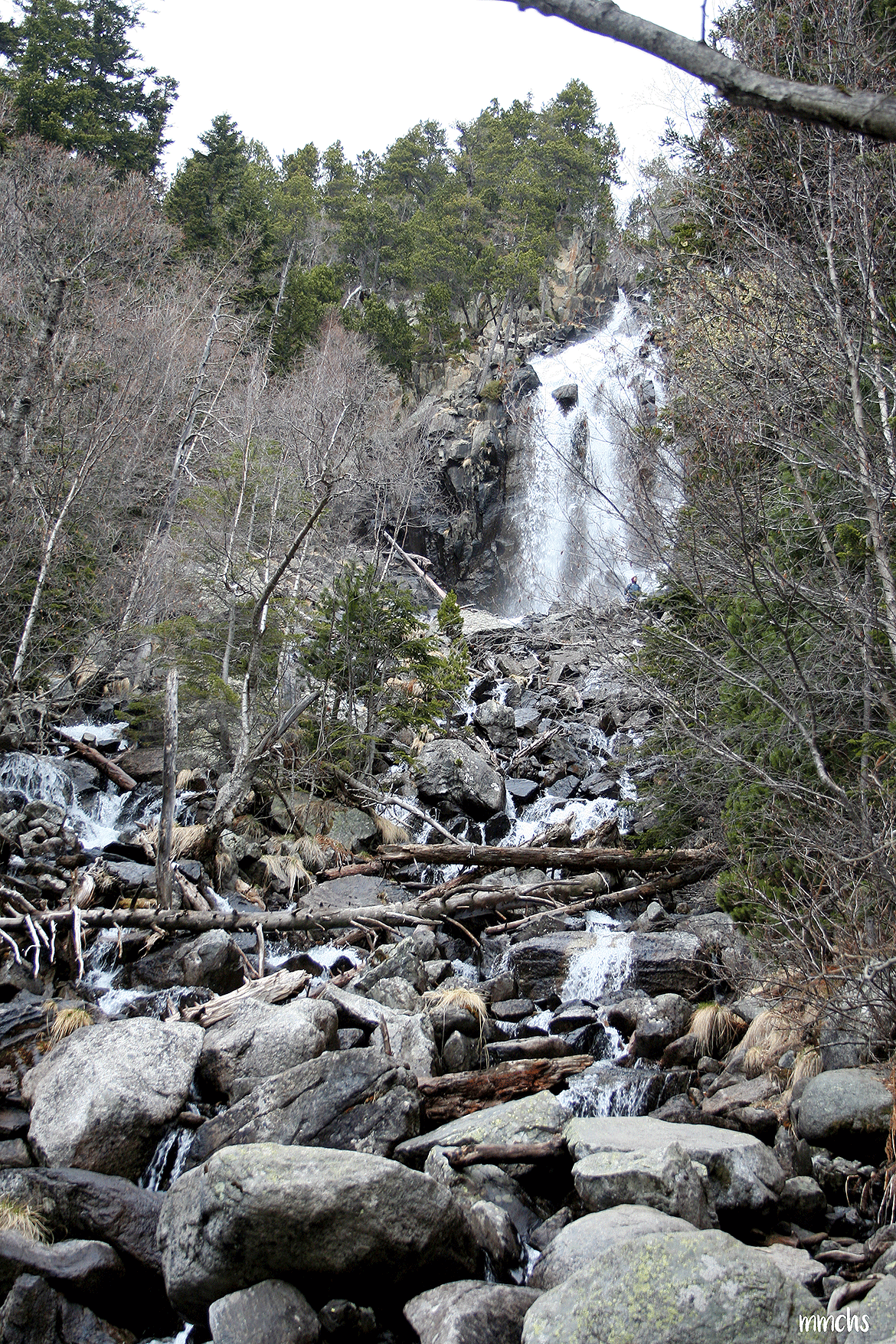 Cascada de La Ratera, Aigüestortes.
