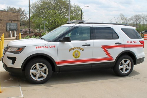 Akron Fire Department Special Ops Ford Explorer | by Seluryar