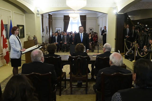 Swearing-in of Premier and Cabinet, April 30, 2019