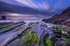 Small setting of the sun at Cabo Carvoeiro. Peniche. Leiria by silvinodasilvaphotography