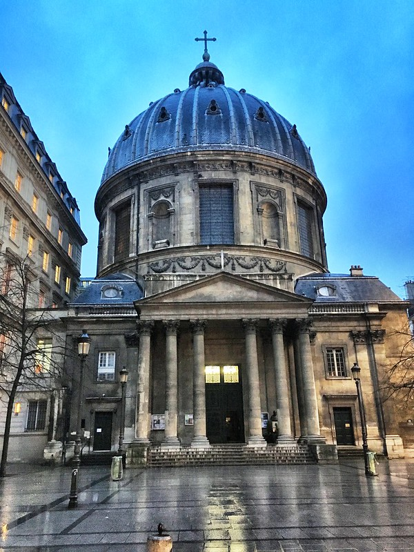 Paris France - Saint Augustin Church - Historic
