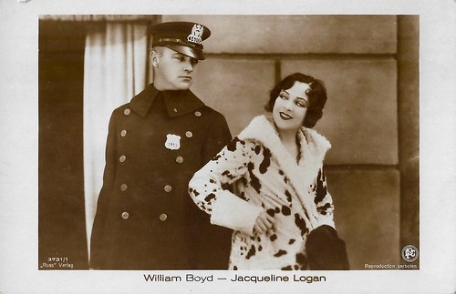 Jacqueline Logan and William Boyd in The Cop (1928)