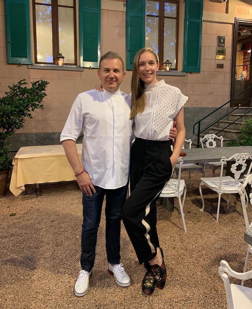 Катя Осадчая и Юрий Горбунов в Швейцарии