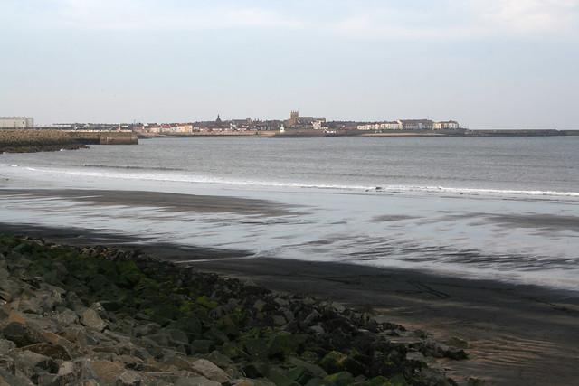 The beach in Hartlepool