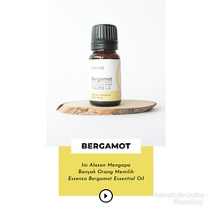 Info lebih lengkap tentang GANGGUAN PENCERNAAN & pembelian Essenzo BERGAMOT Essential Oil, silakan klik link berikut:   bit.ly/harga-BERGAMOT bit.ly/harga-BERGAMOT bit.ly/harga-BERGAMOT . . Tambahan kombinasi essential oil * Bergamot + Pachouli dapat memb