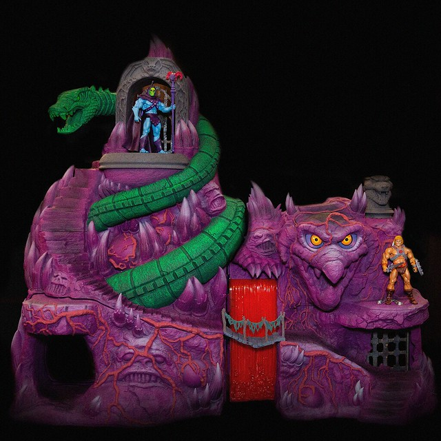 Super7 MUCC系列《太空超人》「蛇山」場景組!Masters of the Universe Collectors Choice - Snake Mountain Playset