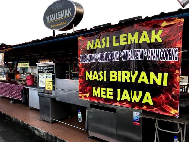 YTA photo Bandong Walk nasi lemak stall