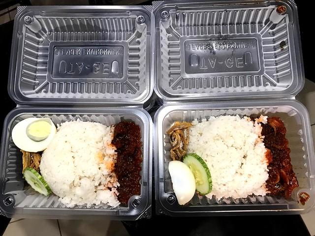 YTA Bandong Walk nasi lemak