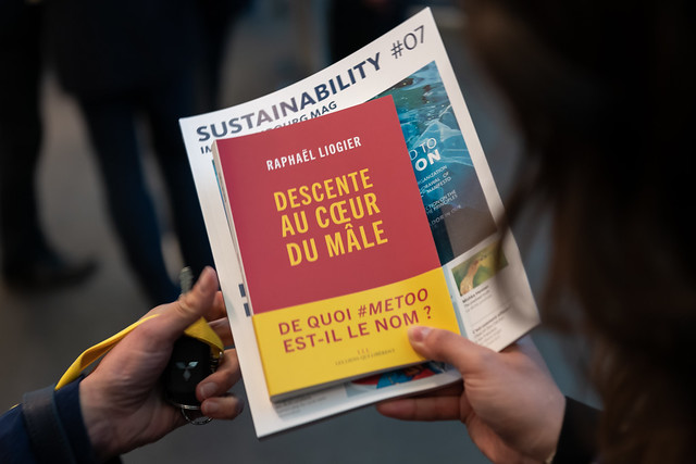 Luxembourg CEO Sustainability Club le 24 avril 2019, avec Raphaël Liogier