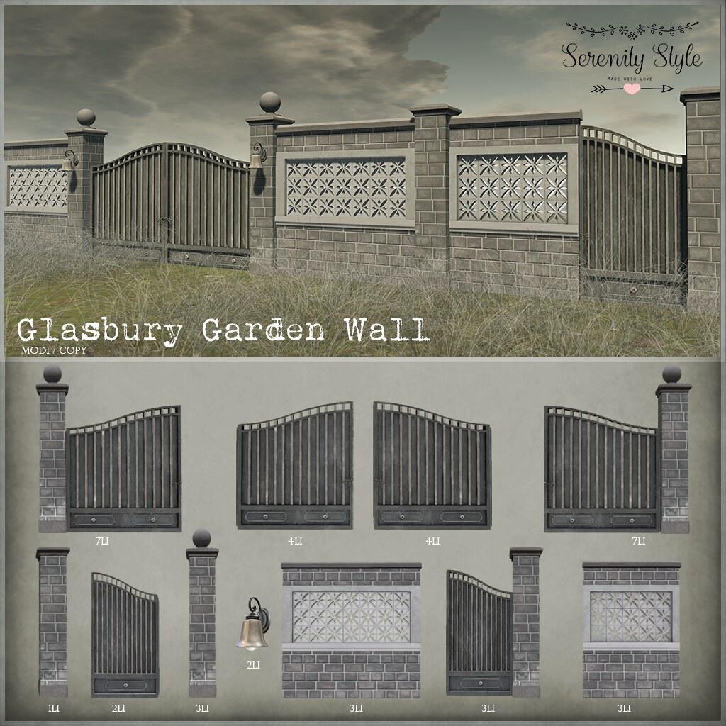 Serenity Style-Glasbury Garden Wall - TeleportHub.com Live!