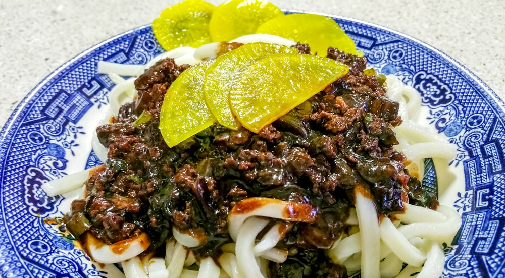 What to eat in Seoul Korea - Jjajangmyeon