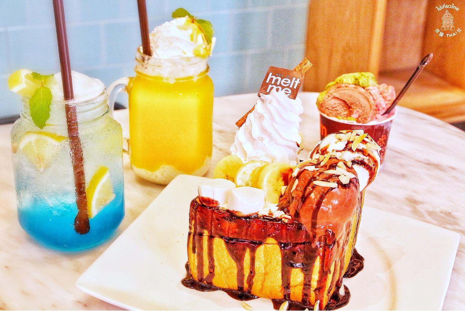 泰國.超人氣冰淇淋甜點店《Melt me》
