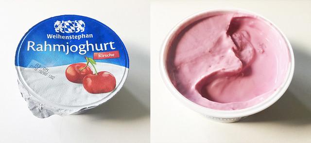 Cream yoghurt cherry / Rahmjoghurt Kirsche