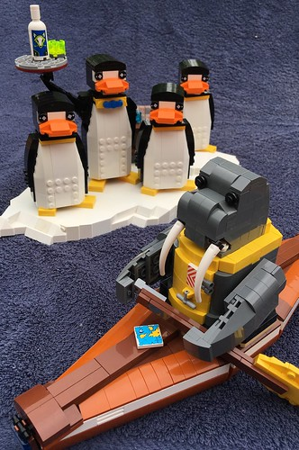 MOC: The Walrus explorer leaves the party | by eurotrash48903