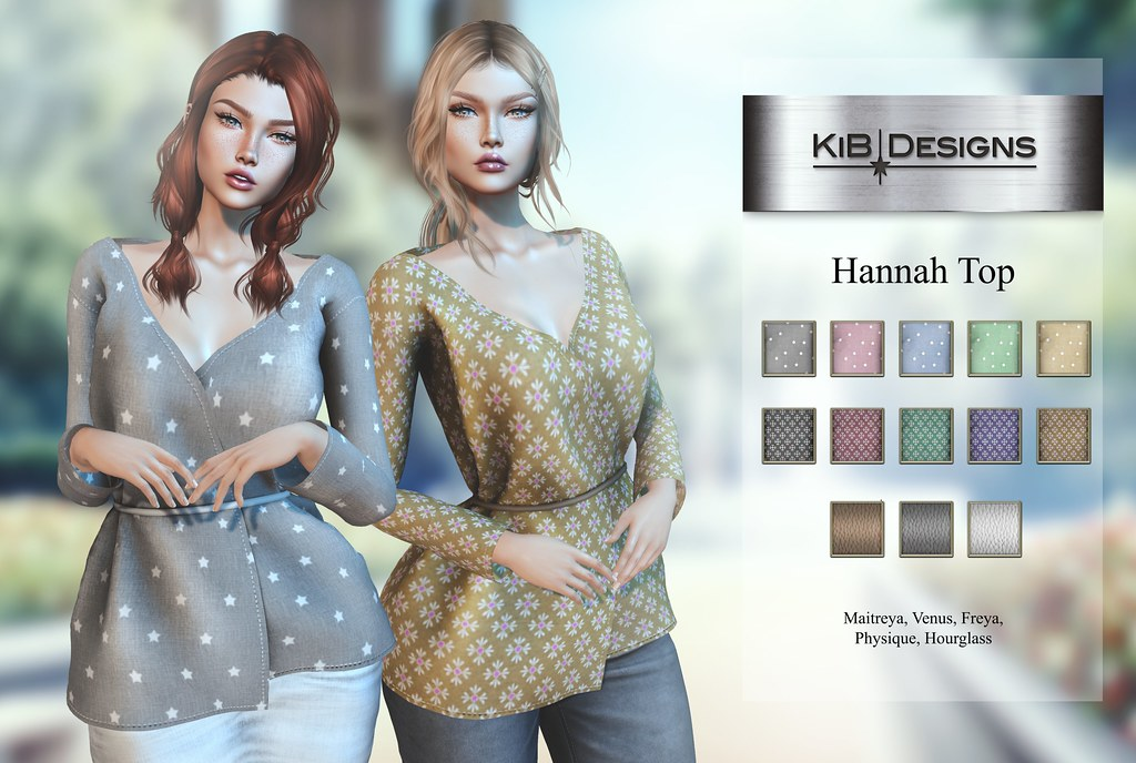 KiB Designs – Hannah Top @Designer Showcase