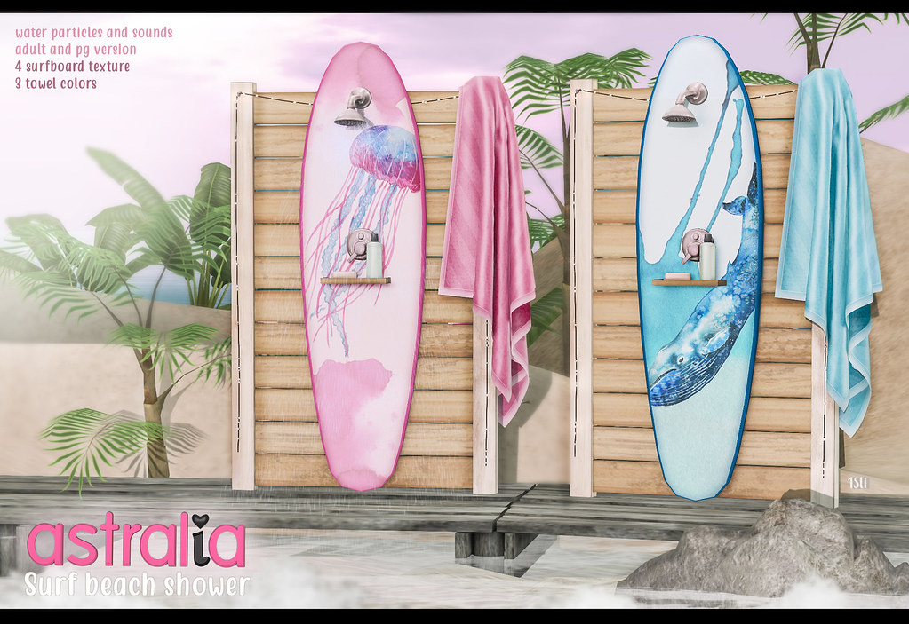 Astralia - Surf beach shower - TeleportHub.com Live!