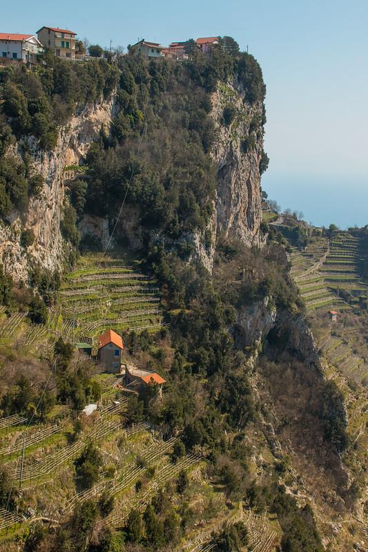 Sentiero Degli Dei Cliff View