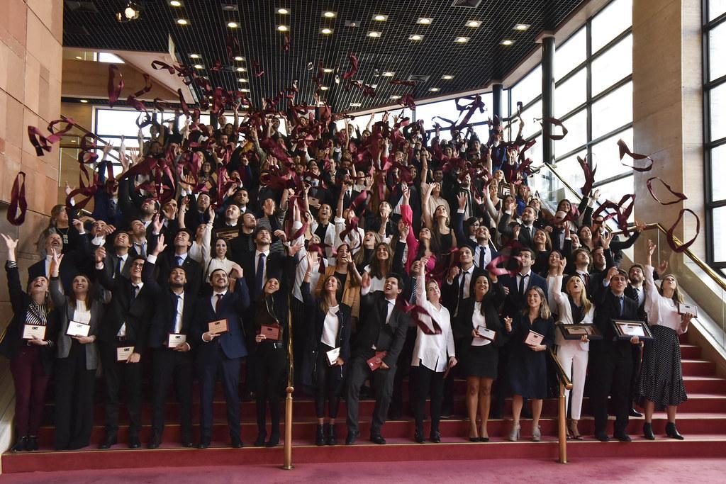 Ceremonia de graduación - 04/2019