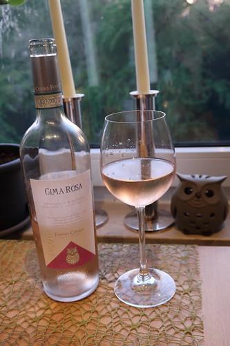 Rosé-Wein Cima Rosa vom Weingut Fosso Corno in den Abruzzen