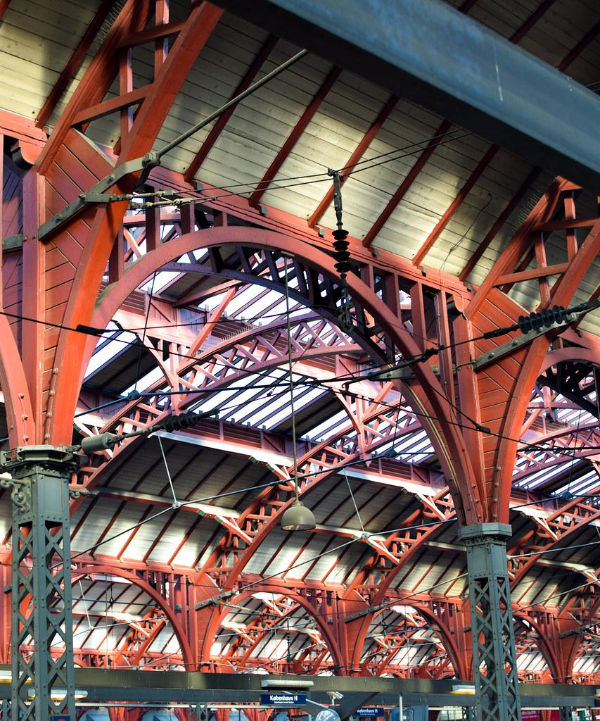 Tågstationen i Köpenhamn