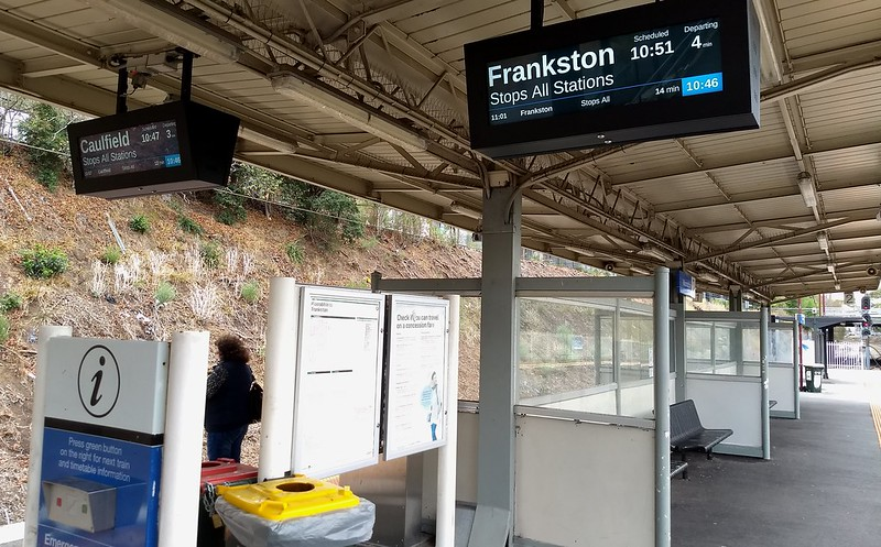 New Passenger Information Displays at Moorabbin