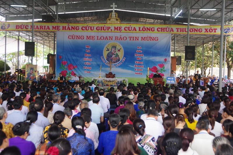 Đại hội tĩnh tâm Hội Mẹ Hằng Cứu Giúp 2019 (2)