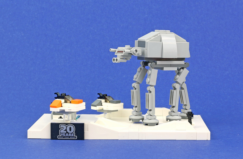 Lego Star Wars 40333 Battle Of Hoth 20th Anniversary Edition