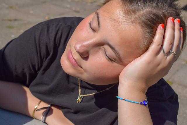 Solskin og højt humør