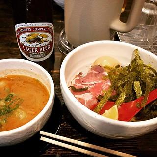 高知、蔵木のつけ麺。
