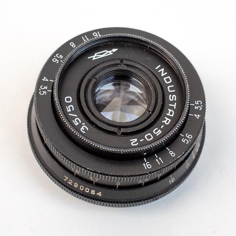 Industar 50-2 50mm F3.5