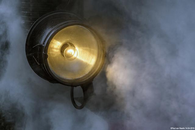 Steam locomotive (.... behind the steam)