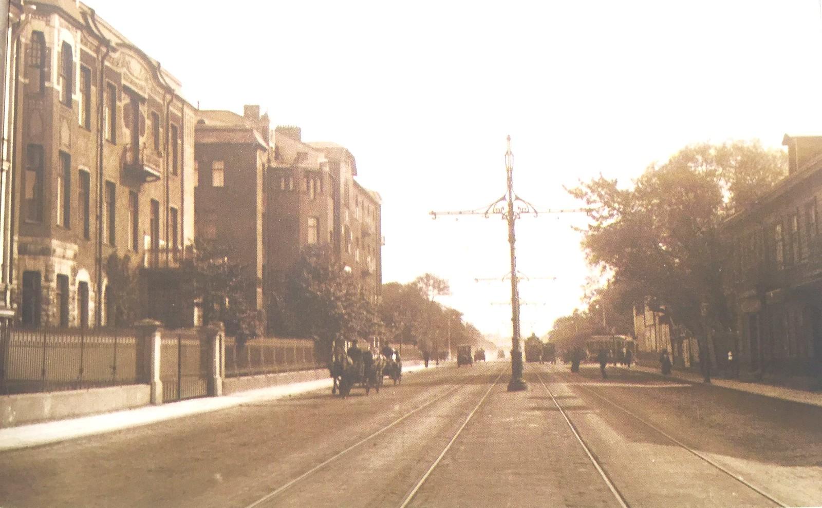 Каменноостровский проспект. 1913