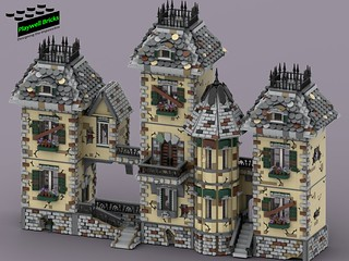 Haunted House WIP 11 - Final Tower