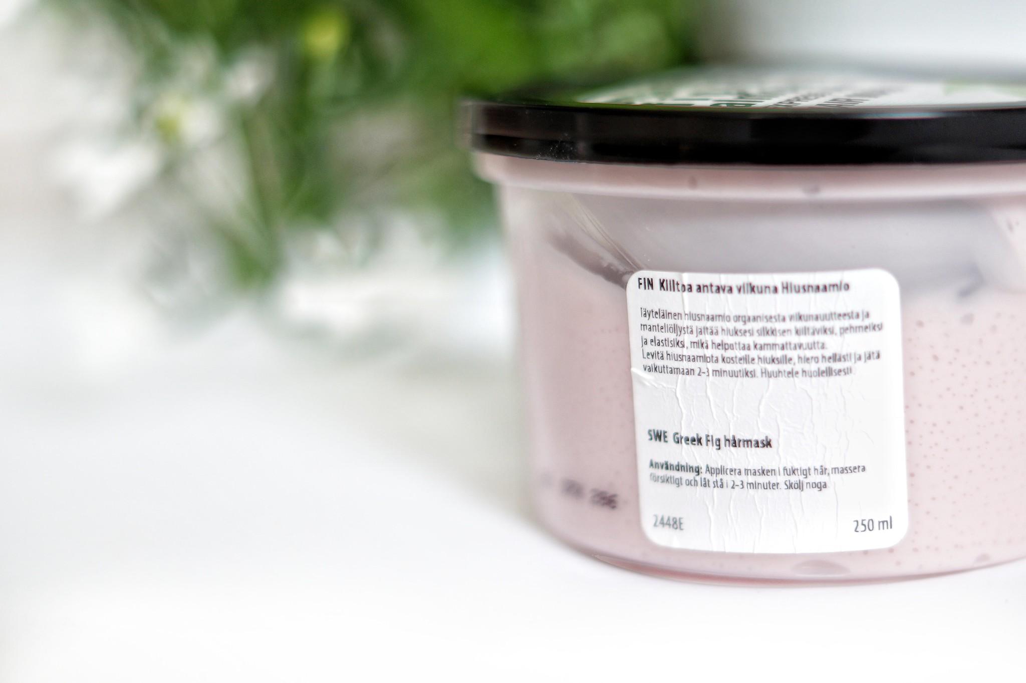 organic shop hiusnaamio
