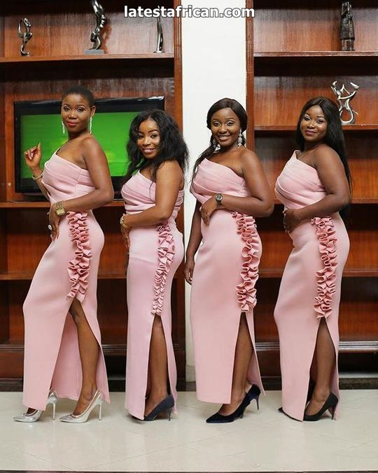 New 2019 African Bridesmaid Dresses