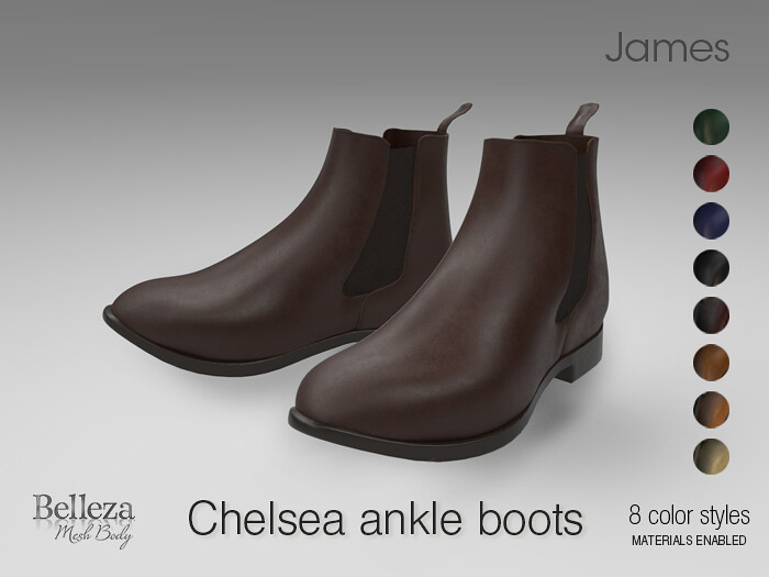 Chelsea Men's ankle boots