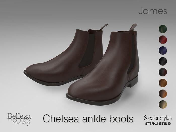 Chelsea Men's ankle boots - TeleportHub.com Live!