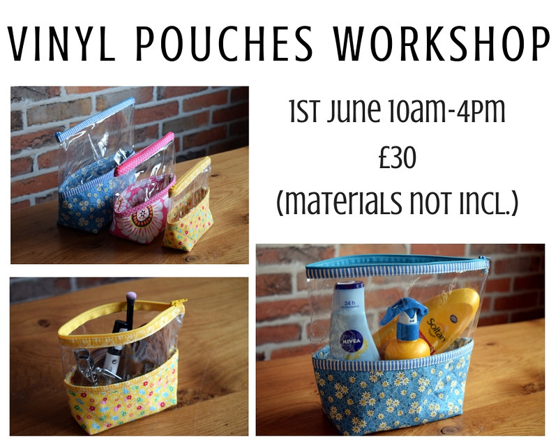 Vinyl Pouches Workshop