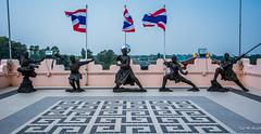 2019 - Thailand - Viharn Sien Anek Kuson Sala - Shaolin Monks