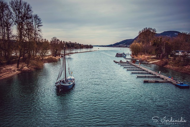 River Rhine, Bad Honnef/Germany