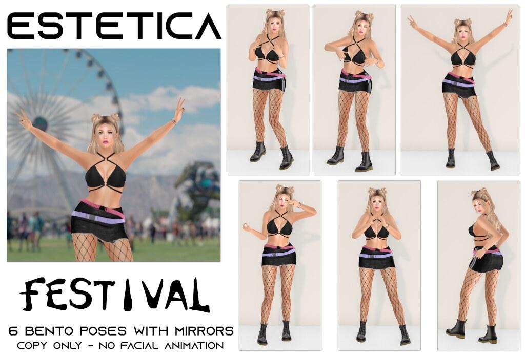 estetica: festival Pose Fair Exclusive - TeleportHub.com Live!